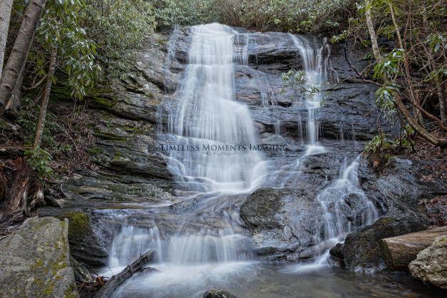 Ranger Falls in the Nantahala National Forest