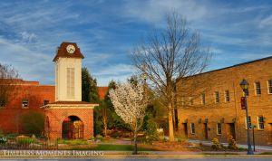 Clock Tower Franklin, NC